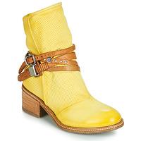 Schuhe Damen Boots Airstep / A.S.98 WINNIE STRAP Gelb