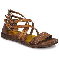 Schuhe Damen Sandalen / Sandaletten Airstep / A.S.98 RAMOS CLOU Camel