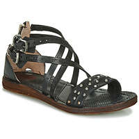 Schuhe Damen Sandalen / Sandaletten Airstep / A.S.98 RAMOS CLOU Schwarz