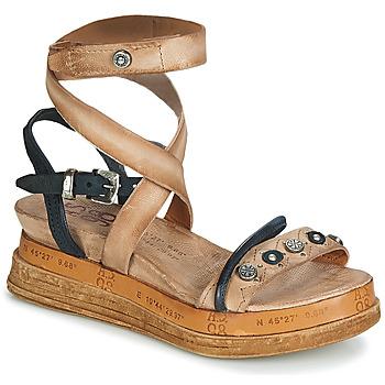 Schuhe Damen Sandalen / Sandaletten Airstep / A.S.98 LAGOS Beige / Schwarz