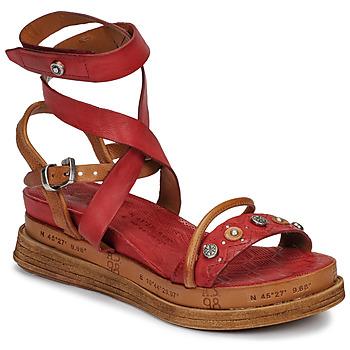 Schuhe Damen Sandalen / Sandaletten Airstep / A.S.98 LAGOS Rot