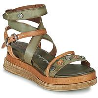 Schuhe Damen Sandalen / Sandaletten Airstep / A.S.98 LAGOS Kaki
