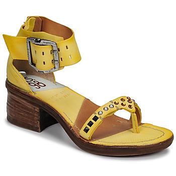 Schuhe Damen Sandalen / Sandaletten Airstep / A.S.98 KENYA Gelb