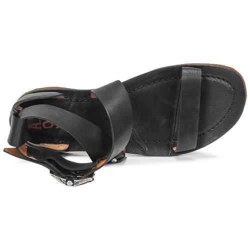 Airstep   A.S.98 RAMOS CROISE Schwarz Schwarz Schwarz  Schuhe Sandalen   Sandaletten Damen 7d159c