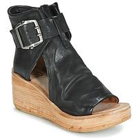 Schuhe Damen Sandalen / Sandaletten Airstep / A.S.98 NOA BUCKLE Schwarz