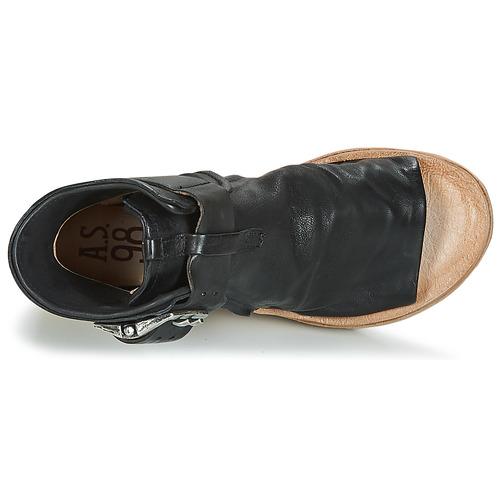 Airstep   A.S.98 A.S.98 A.S.98 NOA BUCKLE Schwarz  Schuhe Sandalen   Sandaletten Damen 7d9ae1