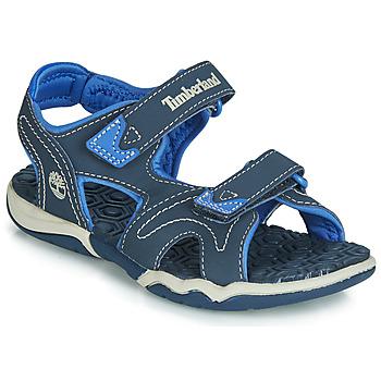 Schuhe Kinder Sandalen / Sandaletten Timberland ADVENTURE SEEKER 2 STRAP Blau