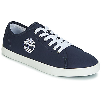 Schuhe Kinder Sneaker Low Timberland NEWPORT BAY CANVAS OX Blau