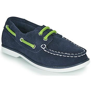 Schuhe Kinder Bootsschuhe Timberland SEABURY CLASSIC 2EYE BOAT Schwarz