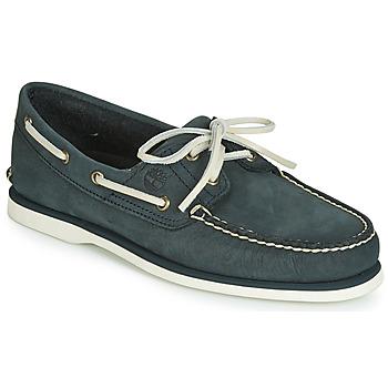 Schuhe Herren Bootsschuhe Timberland CLASSIC BOAT 2 EYE Grau