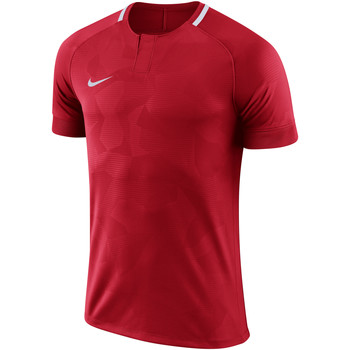 Kleidung Herren T-Shirts Nike Dry Challenge II Jersey SS Rot