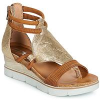 Schuhe Damen Sandalen / Sandaletten Mjus TAPASITA Gold / Camel
