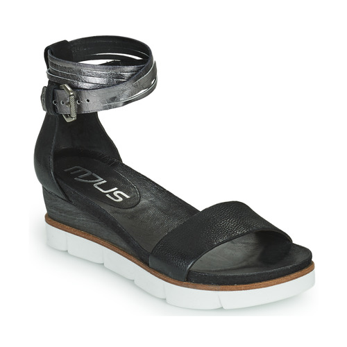 Mjus TAPASITA Schwarz / Silbern  Schuhe Sandalen / Sandaletten Damen