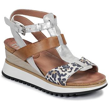 Schuhe Damen Sandalen / Sandaletten Mjus TARDE Camel / Beige / marine
