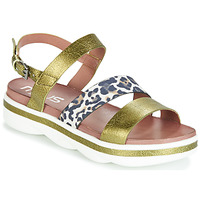 Schuhe Damen Sandalen / Sandaletten Mjus TALISMAN Grün / Beige / marine