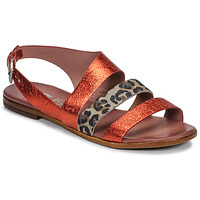 Schuhe Damen Sandalen / Sandaletten Mjus CHAT BUCKLE Rot / Leopard
