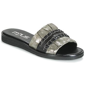 Schuhe Damen Pantoffel Mjus TEMPLE Kaki / Schwarz