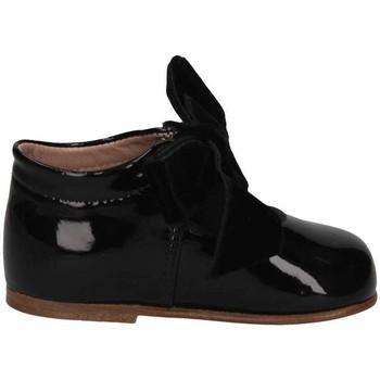 Schuhe Kinder Ballerinas Cucada 3570R NEGRO First steps Kind schwarz schwarz