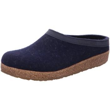 Schuhe Herren Hausschuhe Haflinger 713001 blau