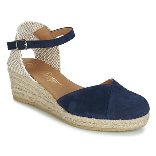 Betty London INONO Marine - Kostenloser Versand       - Schuhe Sandalen   Sandaletten Damen 59,99