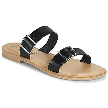 Schuhe Damen Pantoffel Betty London JADALEBE Schwarz