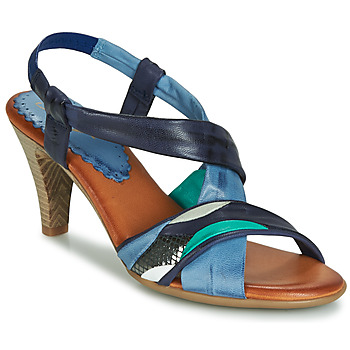 Schuhe Damen Sandalen / Sandaletten Betty London POULOI Blau / Grün