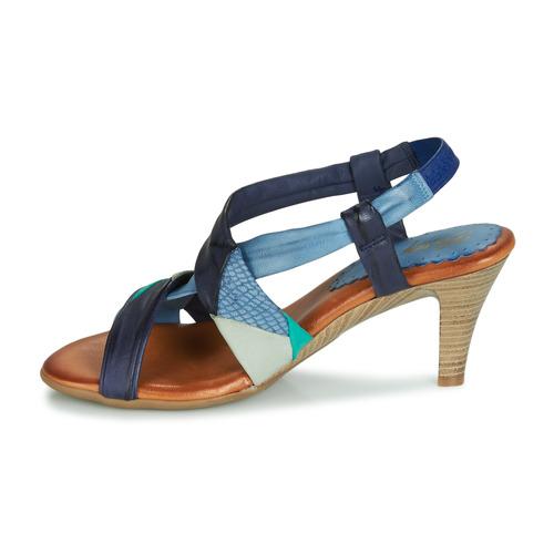 Betty Betty Betty London POULOI Blau   Grün  Schuhe Sandalen   Sandaletten Damen 4637fd