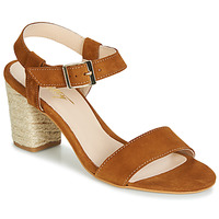 Schuhe Damen Sandalen / Sandaletten Betty London JIKOTIFE Camel