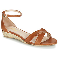 Schuhe Damen Sandalen / Sandaletten Betty London JIKOTIVE Camel