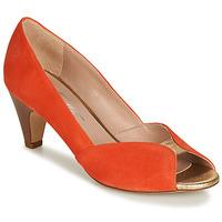 Schuhe Damen Pumps Betty London JIKOTIZE Korallenrot