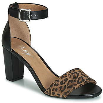Schuhe Damen Sandalen / Sandaletten Betty London CRETOLIA Schwarz