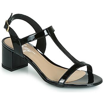 Schuhe Damen Sandalen / Sandaletten Betty London CREPE Schwarz