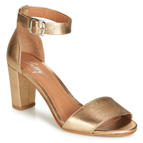 Schuhe Damen Sandalen / Sandaletten Betty London CRETOLIA Gold