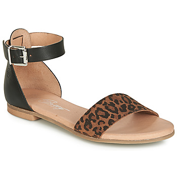 Schuhe Damen Sandalen / Sandaletten Betty London JIKOTIRE Schwarz