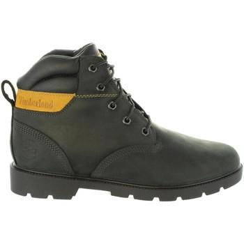 Schuhe Kinder Wanderschuhe Timberland A1I2C LEAVITT Negro
