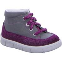 Schuhe Jungen Babyschuhe Superfit Schnuerstiefel 7-00427-06 grau