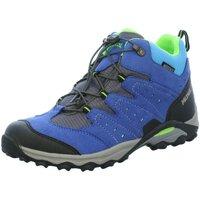 Schuhe Jungen Wanderschuhe Meindl Bergschuhe Tuam Jr 2094-38 blau