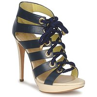 Schuhe Damen Sandalen / Sandaletten Pollini PA1609CC1V Blau