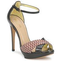 Schuhe Damen Sandalen / Sandaletten Pollini PA1638CC1V Braun / crème