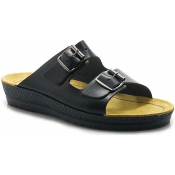 Schuhe Damen Pantoletten / Clogs Rohde Pantoletten 1432-56 blau