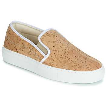 Schuhe Damen Slip on Dream in Green JAKAMORI Beige