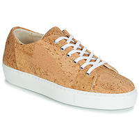 Schuhe Damen Sneaker Low Dream in Green JAKANIS Beige