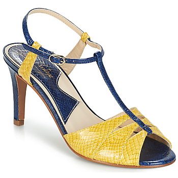 Schuhe Damen Sandalen / Sandaletten Ippon Vintage DROP BACK Marine / Gelb