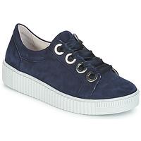 Schuhe Damen Sneaker Low Gabor POMPON Marine