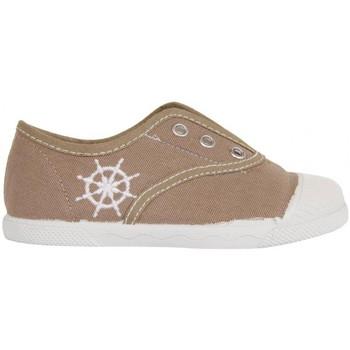 Schuhe Kinder Sneaker Low Cotton Club CC0001 Beige