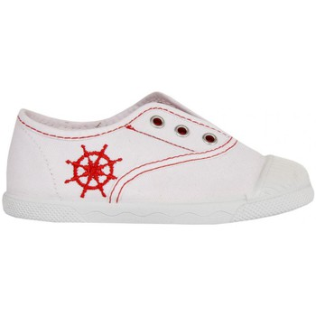Schuhe Kinder Sneaker Low Cotton Club CC0001 Blanco