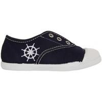 Schuhe Kinder Sneaker Low Cotton Club CC0001 Azul