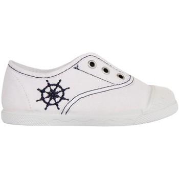 Schuhe Kinder Sneaker Low Cotton Club CC0002 Blanco