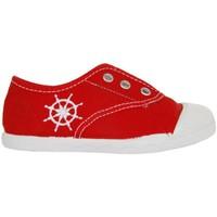 Schuhe Kinder Sneaker Low Cotton Club CC0002 Rojo