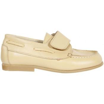 Schuhe Jungen Bootsschuhe Garatti AN0071 Beige